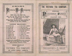 Advert for the Victoria Tea Company 7519